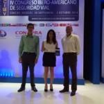 """CONASET recibe el premio """"Buenas prácticas en seguridad vial"""""""
