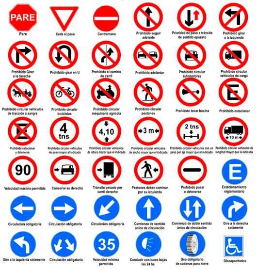 señalización-reglamentaria-tránsito-Chile